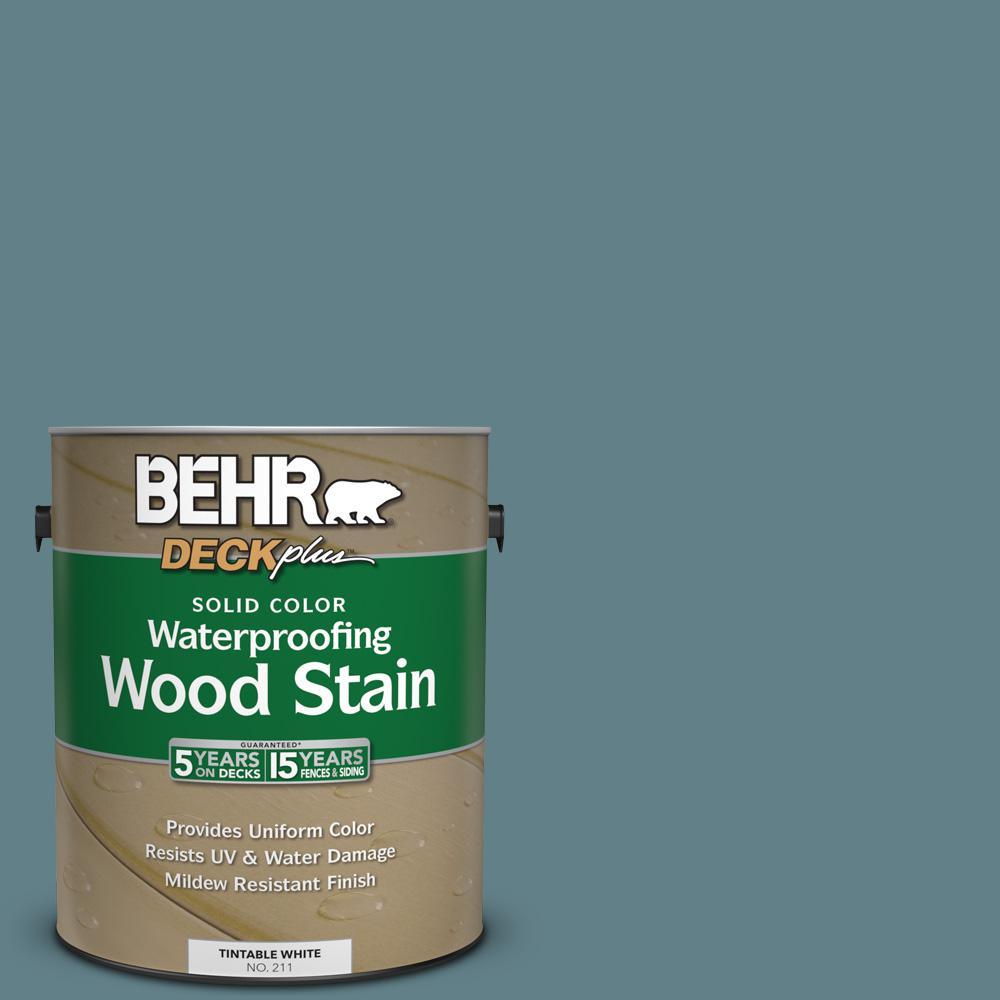 1 gal. #SC-113 Gettysburg Solid Color Waterproofing Wood Stain