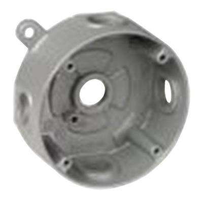 Round Weatherproof Electrical Box with 5 1/2 in. Holes (Case of 13)