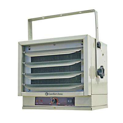 17065 BTU Ceiling Mount Fan-Forced Industrial Utility Electric Heater Furnace with Safety Overheat Protection
