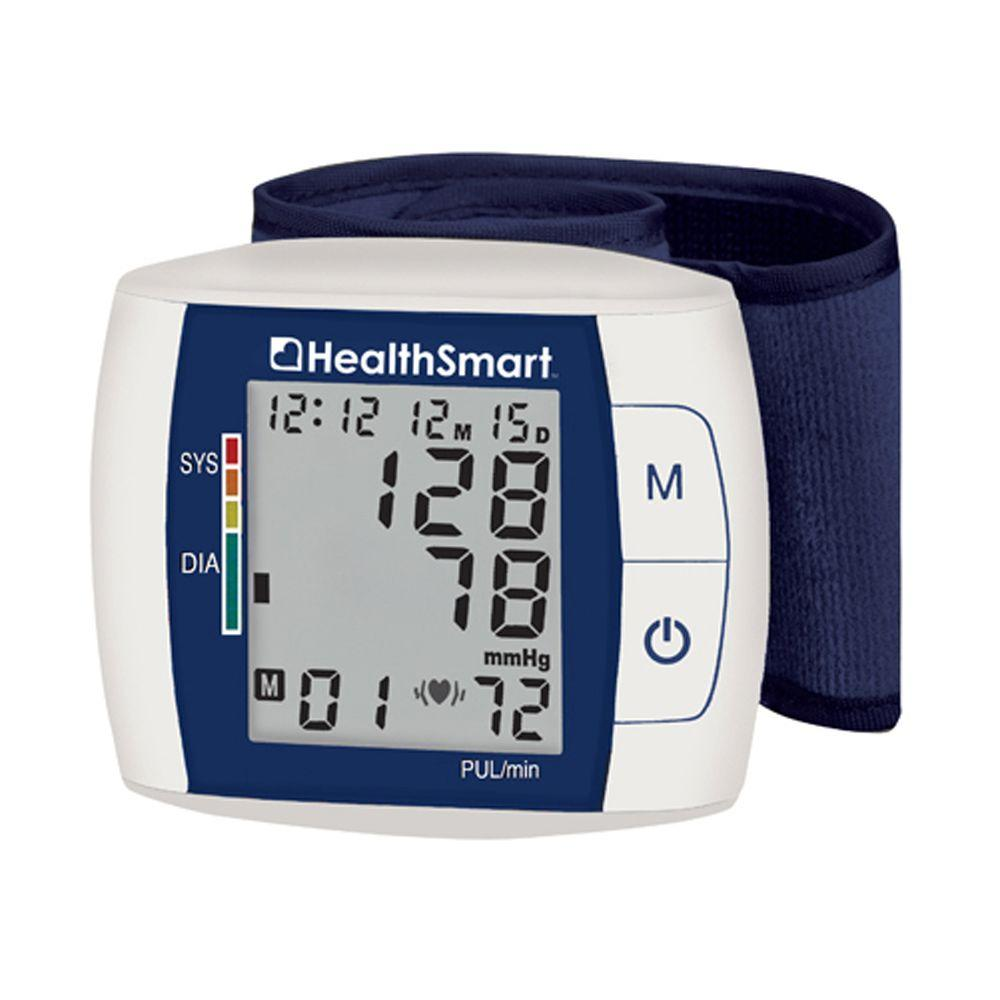 Health Smart Premium Automatic Wrist Talking Digital Blood Pressure Monitor