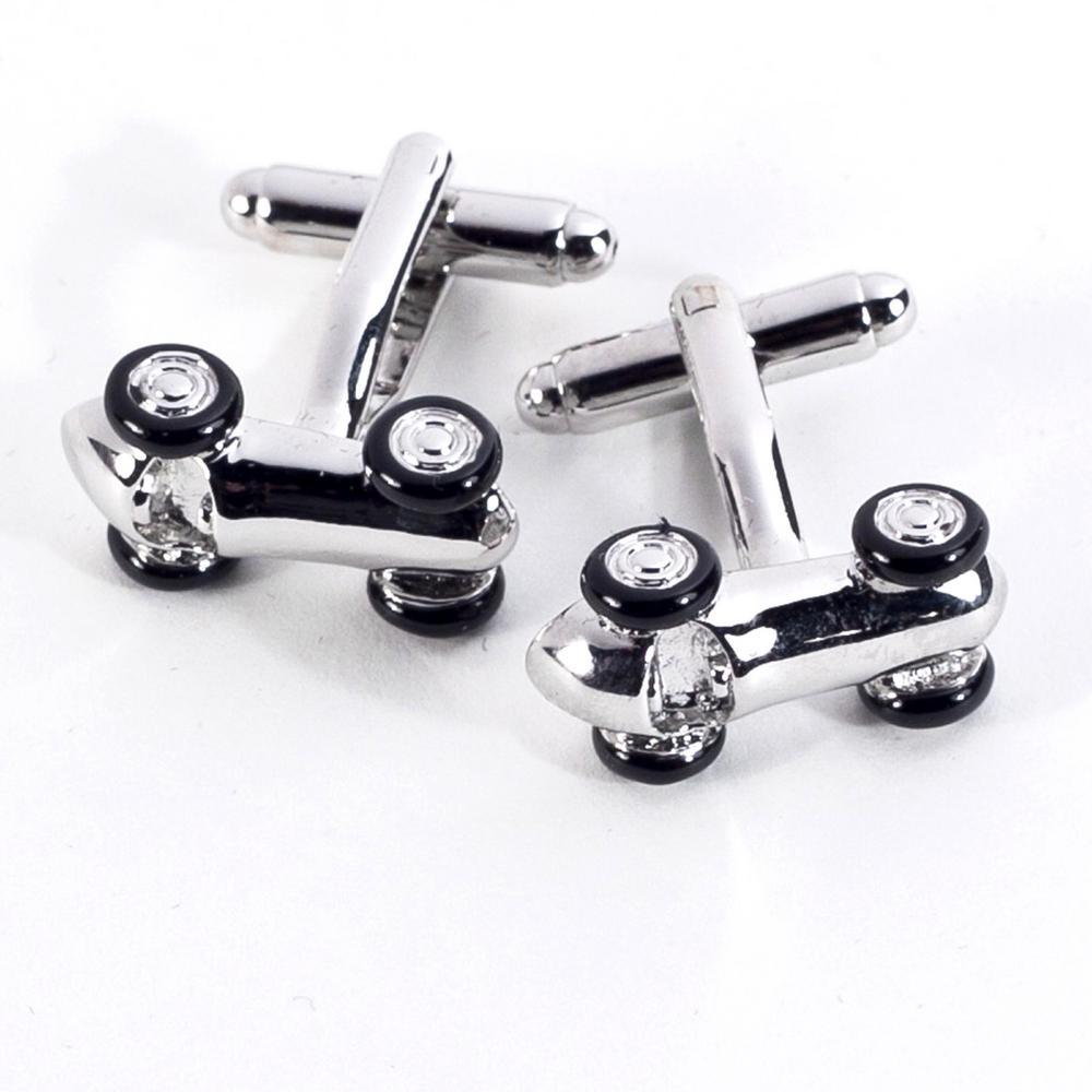 Metal Cufflink in Silver