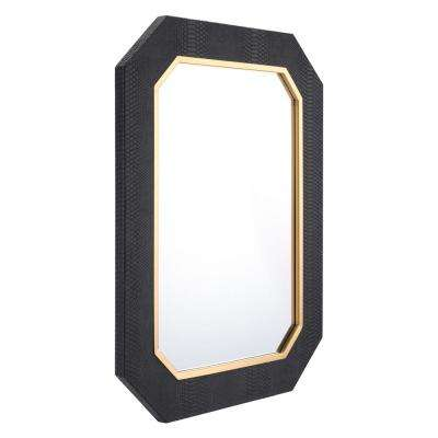 Asti Black Decorative Mirror