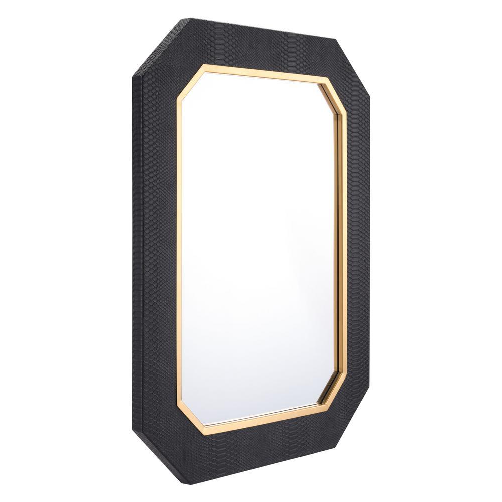 Asti Black Decorative Mirror