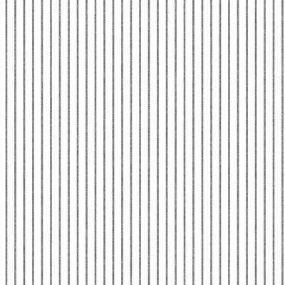 56 sq. ft. Ticking Stripe Wallpaper