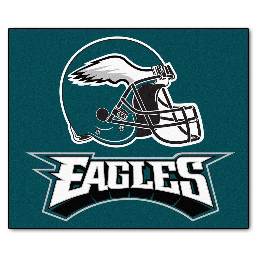 Fanmats Philadelphia Eagles 5 Ft X 6 Ft Tailgater Rug