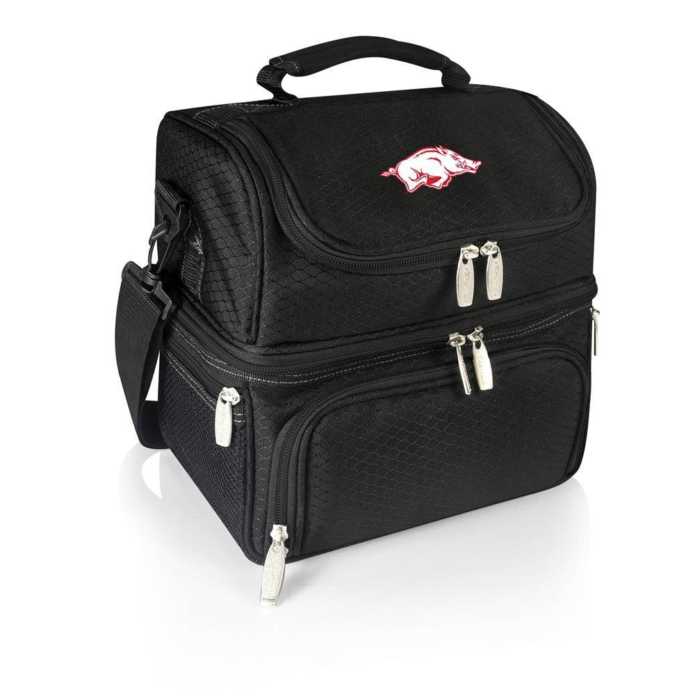Pranzo Black Arkansas Razorbacks Lunch Bag