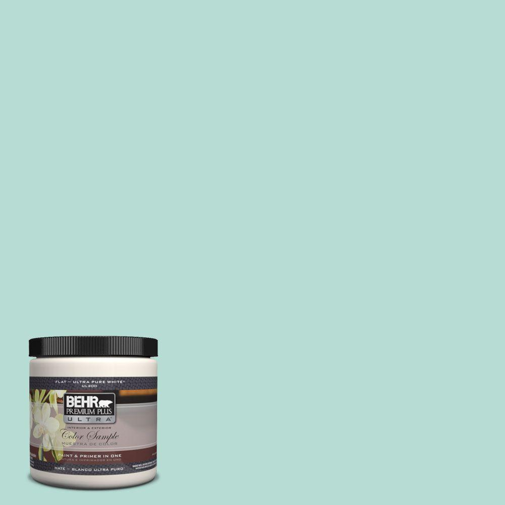 490c 3 Balmy Seas Matte Interior Exterior Paint And Primer In One Sample