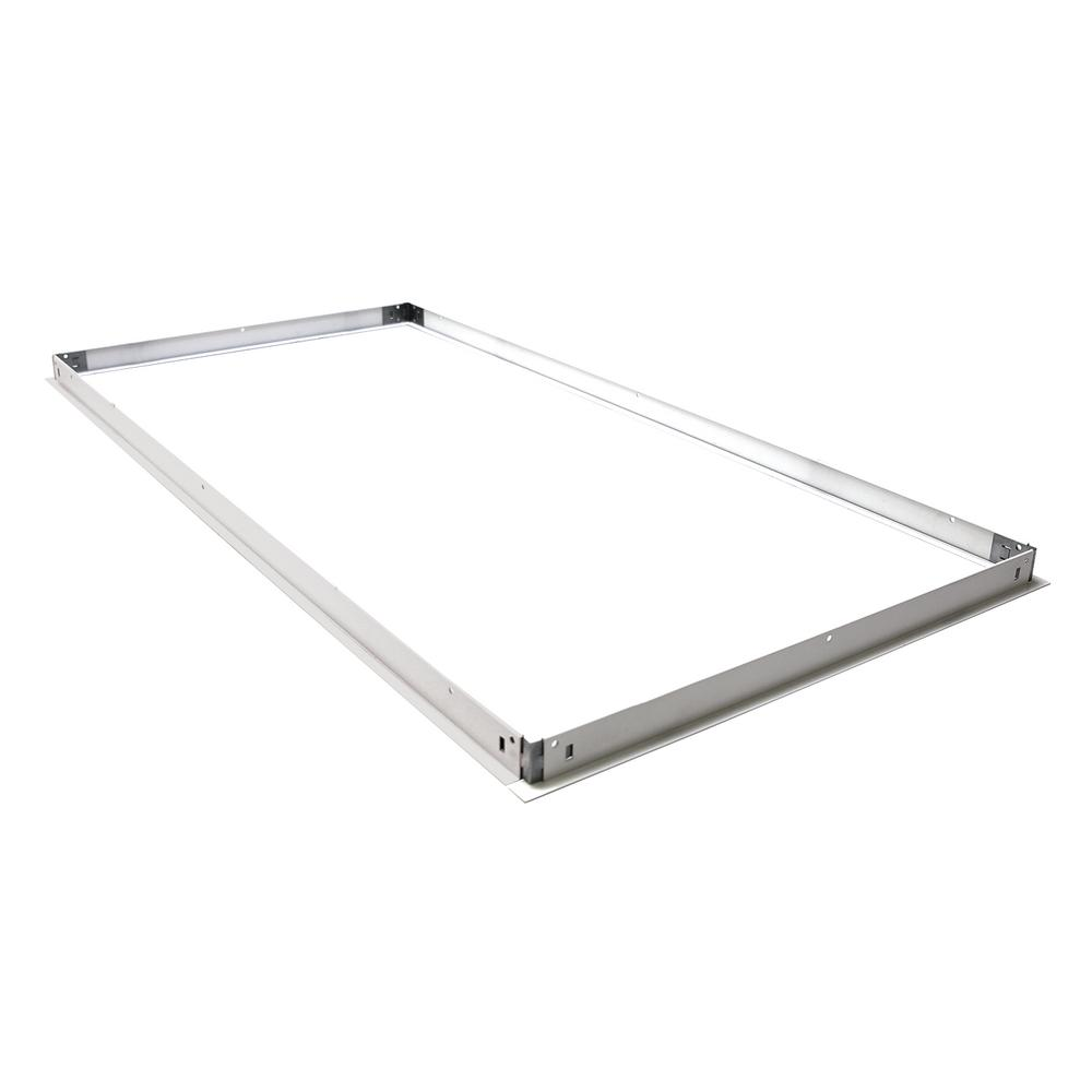 2x4 White Dry Wall Frame Kit for Commercial Lighting Fixtures