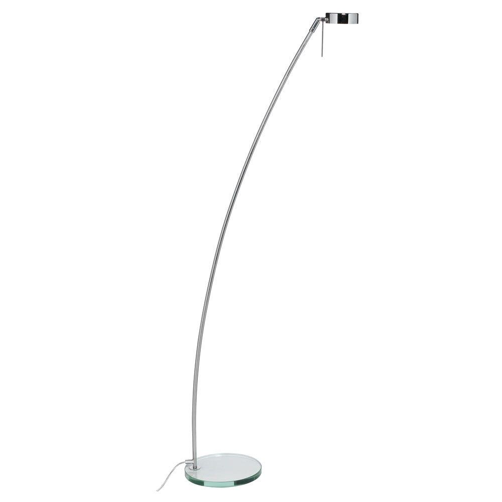 Filament Design Cathrine 1 Light 54 in. Polished Chrome Table Lamp