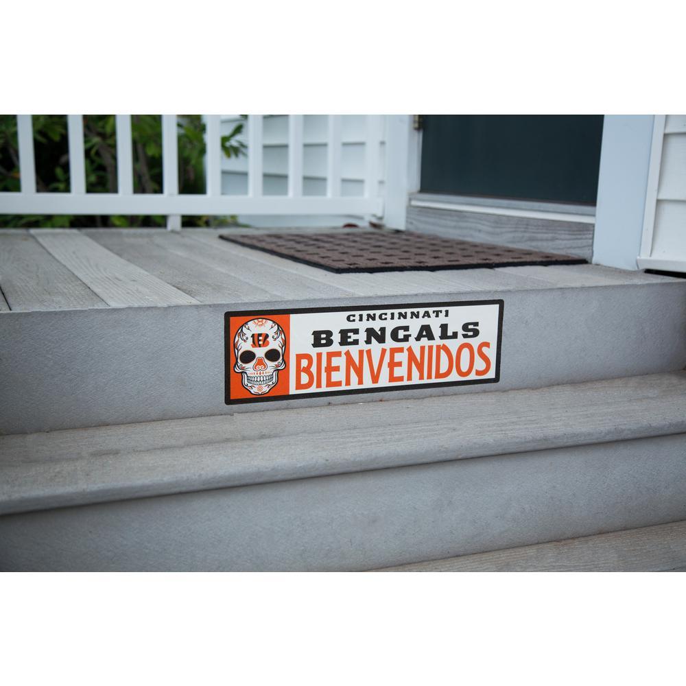 NFL Cincinnati Bengals Bienvenidos Step Graphic