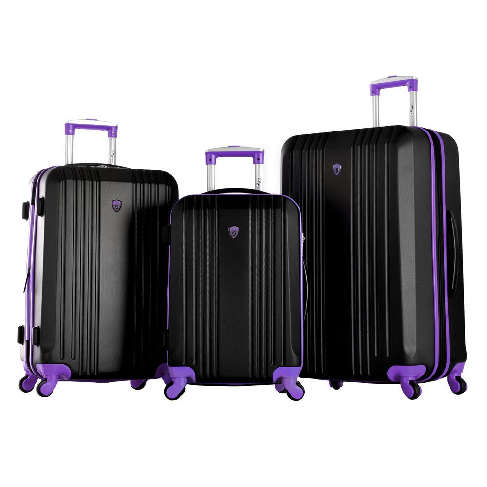 OLYMPIA USA Apache II 3-Piece Expandable Hardcase Spinner Set