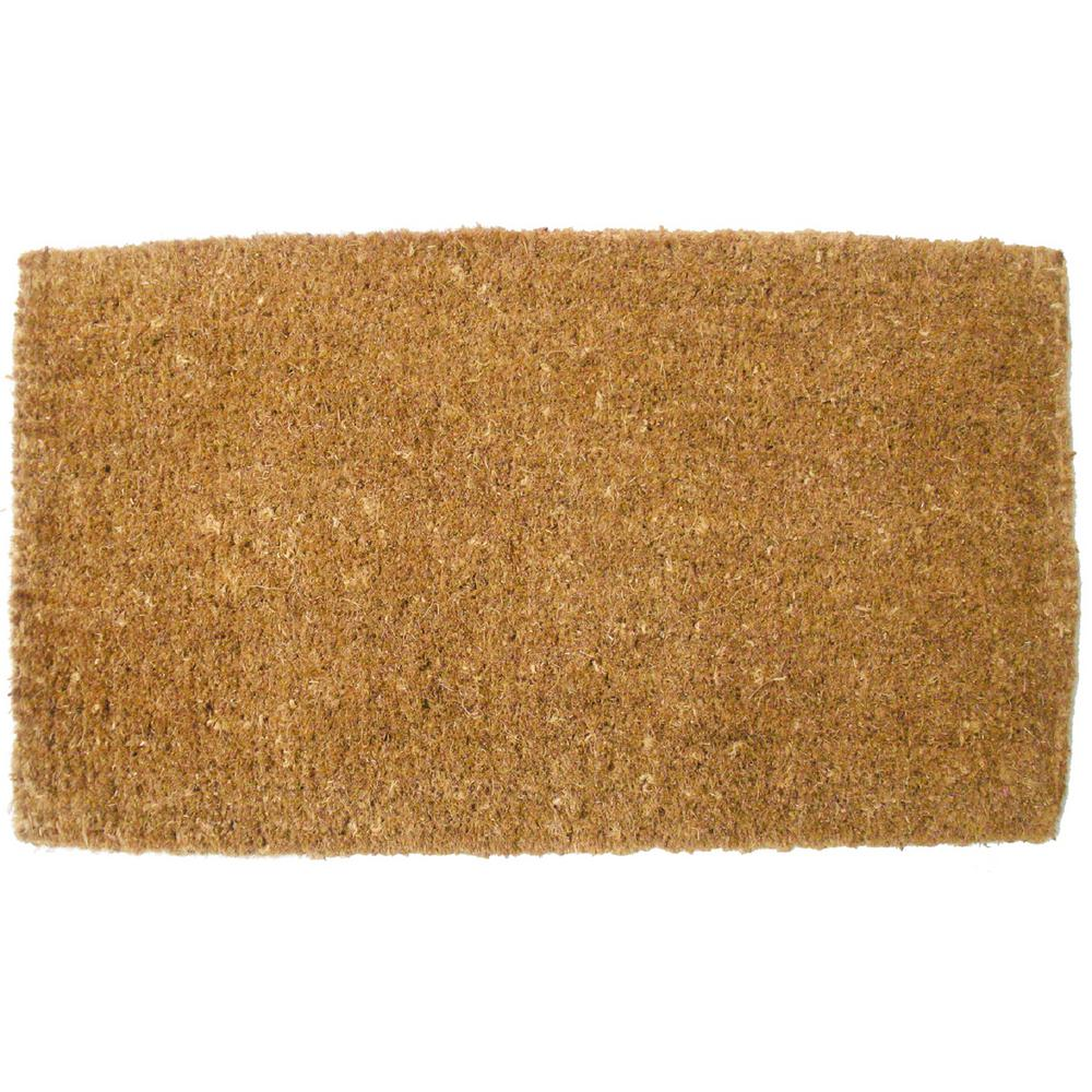 26 In X 42 In Plain Vycome Coco Door Mat 4437 The Home