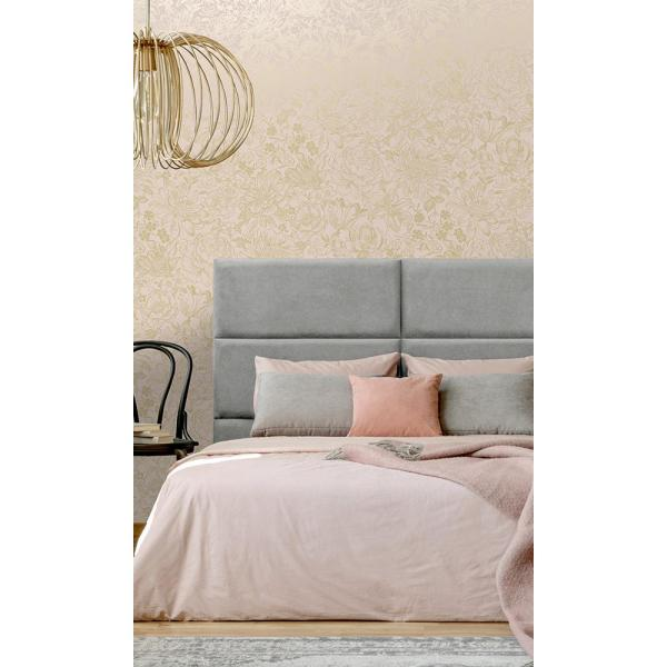 Walls Republic Pink Vintage Textured Floral Dry Strippable