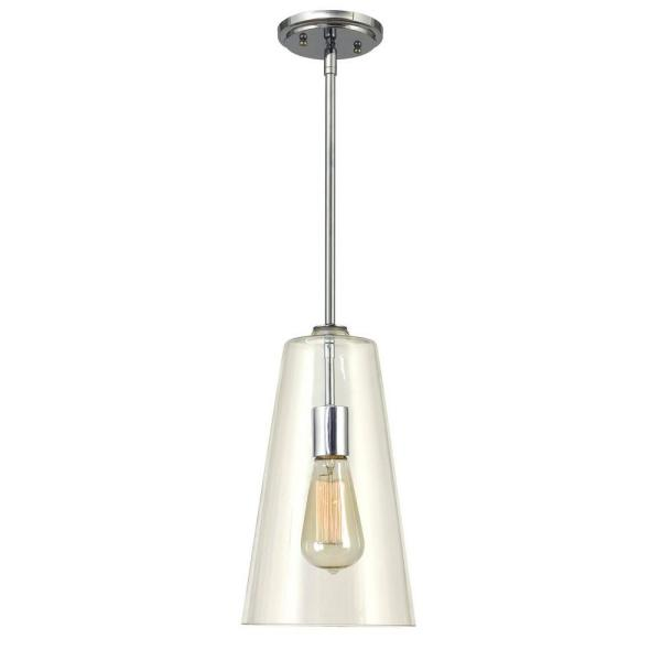 Boda 1-Light Clear Glass Pendant