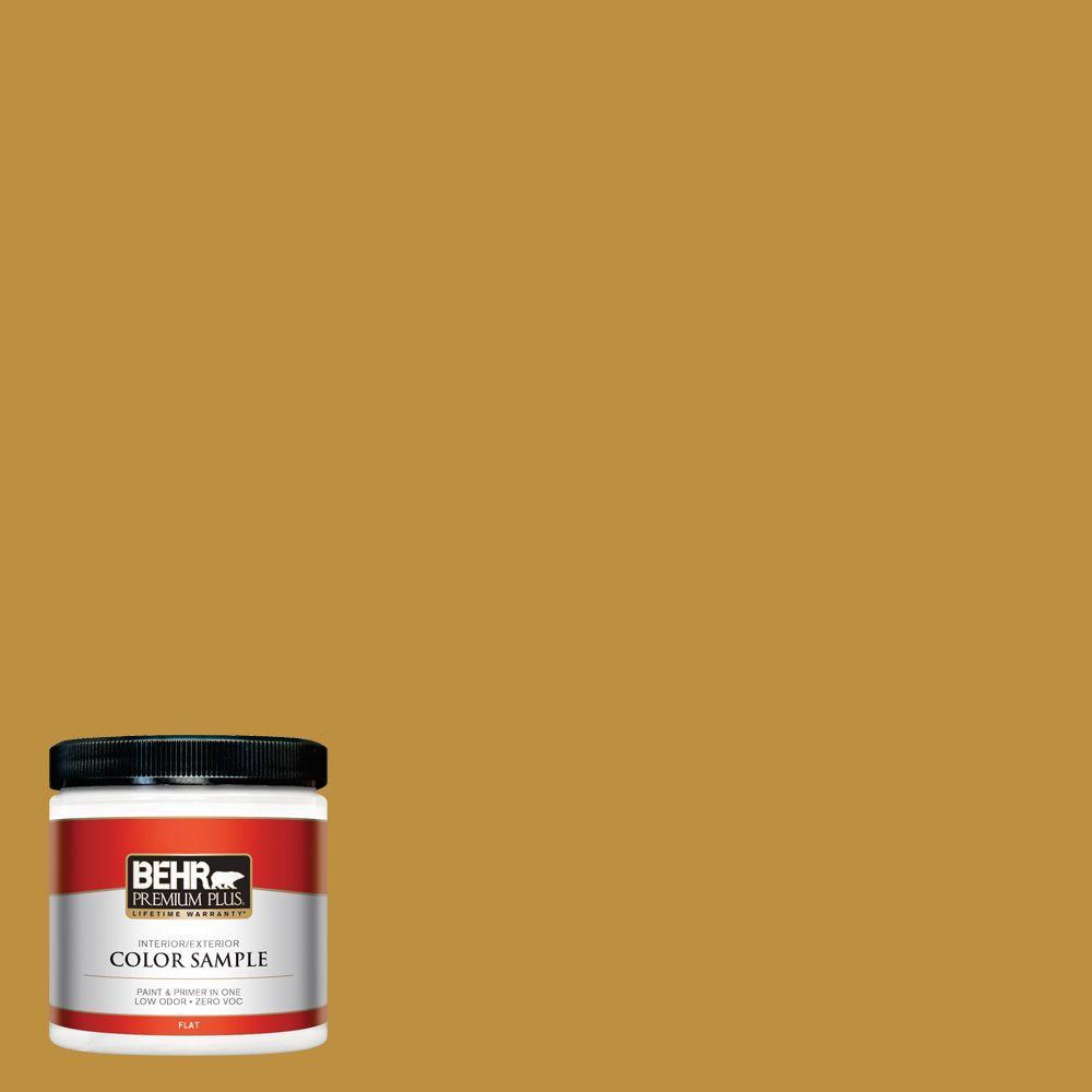 8 oz. #340D-6 Fervent Brass Interior/Exterior Paint Sample