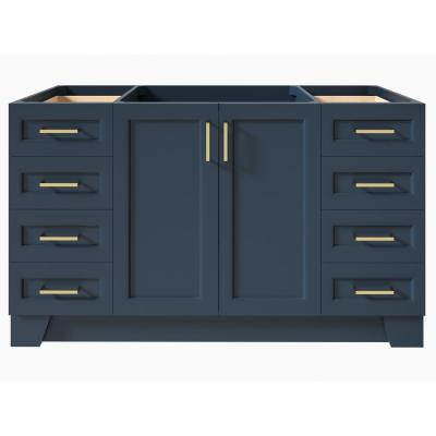 Taylor 60 in. W Vanity Cabinet Only in Midnight Blue