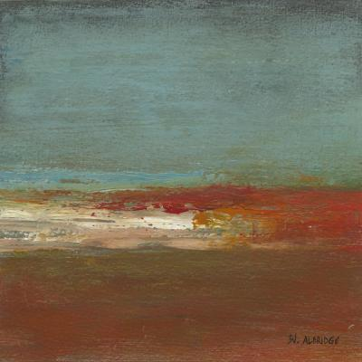 "54 in. x 54 in. ""Sea Horizon III"" by Willie Green-Aldridge Wall Art"