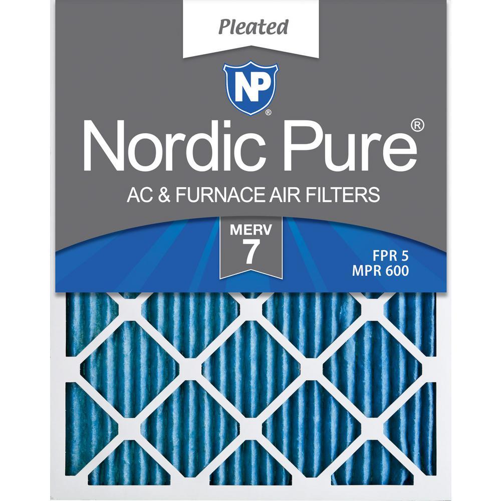 Nordic Pure 12x30x1 Exact MERV 13 Tru Mini Pleat AC Furnace Air Filters 1 Pack