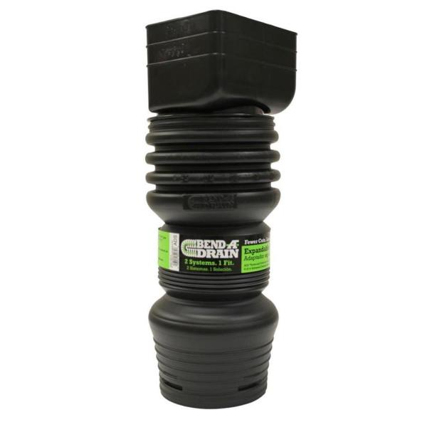 4.25 in. x 3 in. Bend-a-Drain Downspout Adaptor