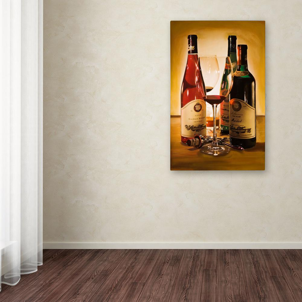 """32 in. x 22 in. """"Choices"""" by Roderick Stevens Printed Canvas"""