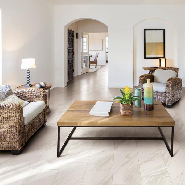 Corso Italia Impero Olympus 12 In X 24 In Porcelain Floor And Wall Tile 15 5 Sq Ft Case 610010002000 The Home Depot