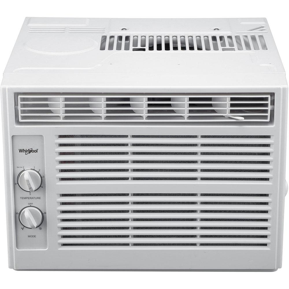 5,000 BTU 115-Volt Window Air Conditioner with Dehumidifier and Mechanical