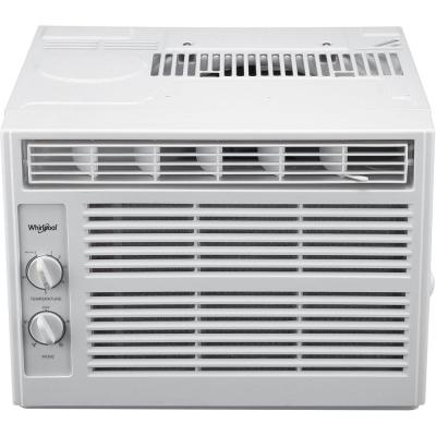 5,000 BTU 115-Volt Window Air Conditioner with Dehumidifier and Mechanical Controls