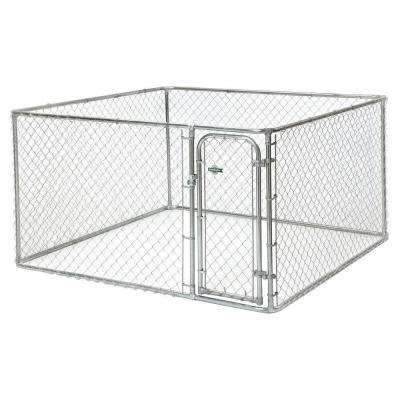 7.5 ft. x 7.5 ft. x 4 ft. Boxed Kennel