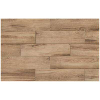Alpine Sand 6 in. x 24 in. Porcelain Floor and Wall Tile (14 sq. ft. / case)