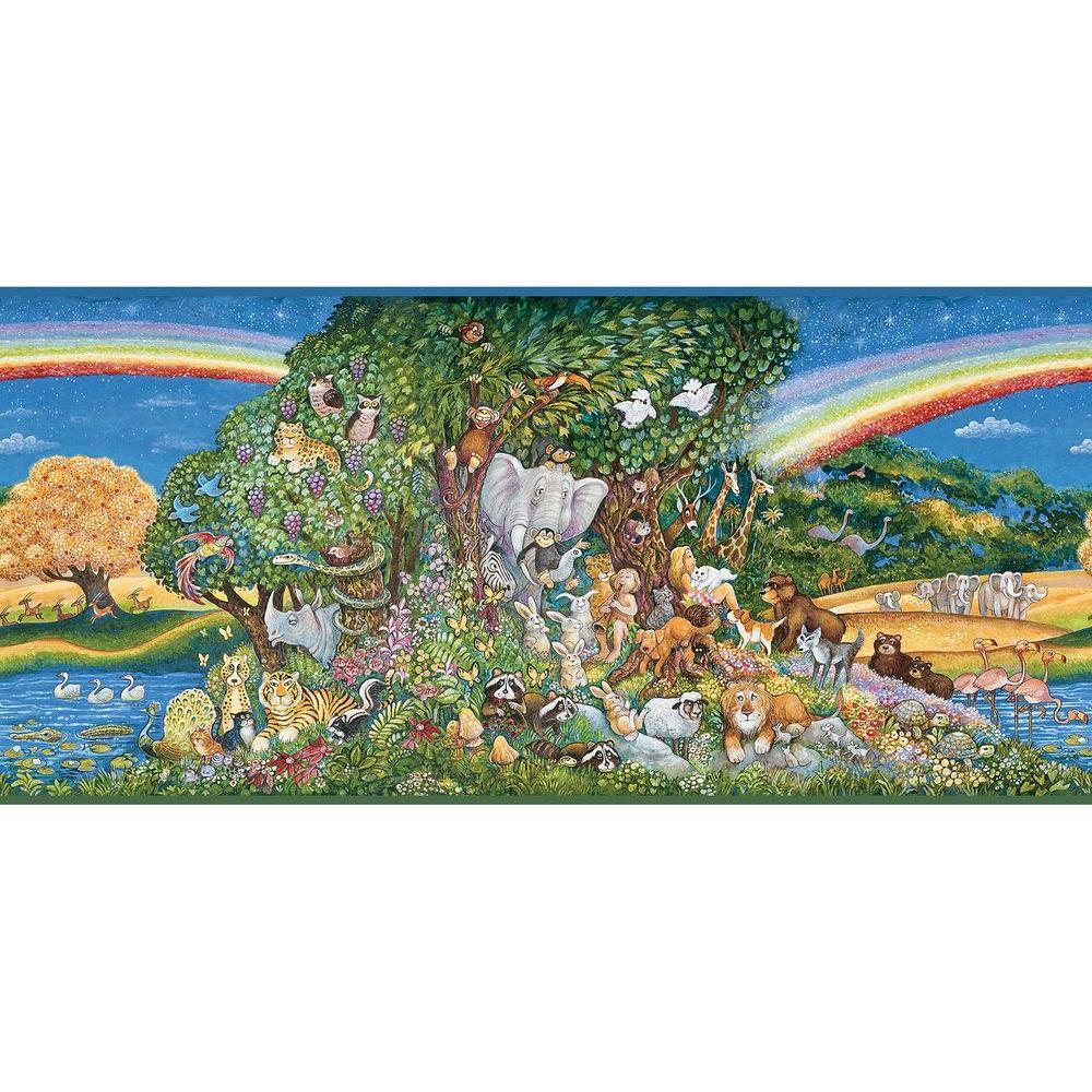 Chesapeake Mira Eden Wallpaper Border HAS01021B