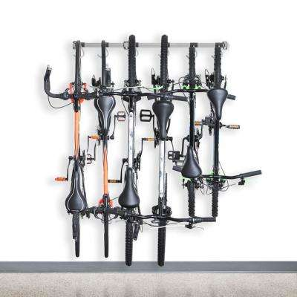 51 in. 6-Bike Storage Rack 2.0