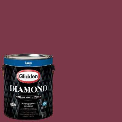 1 gal. #NBA-012D Cleveland Cavaliers Wine Satin Interior Paint with Primer