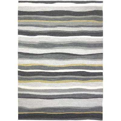 Driftwood Gray 8 ft. x 10 ft. Indoor/Outdoor Area Rug