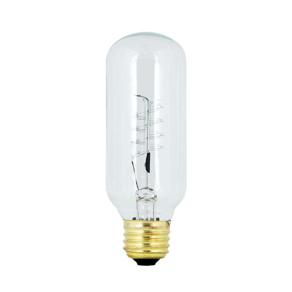 Feit Electric 40-Watt Soft White (2200K) T14 Incandescent Original Vintage Style Light Bulb (Case of 24)