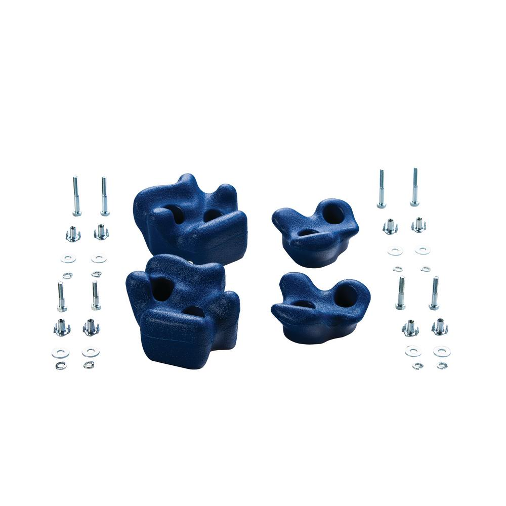 Climbing Rocks (4 Pack) - Blue