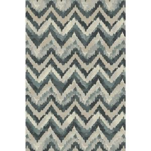 Dynamic Rugs Melody Blue 2 ft. x 3 ft. 7 inch Indoor Accent Rug by Dynamic Rugs
