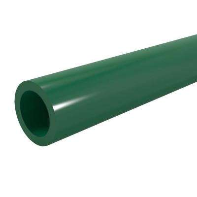 1/2 in. x 5 ft. Furniture Grade Sch. 40 PVC Pipe in Green