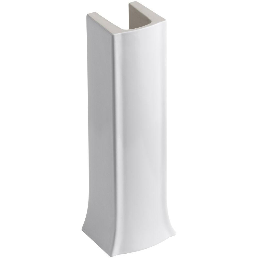 Delicieux Archer Vitreous China Pedestal In White