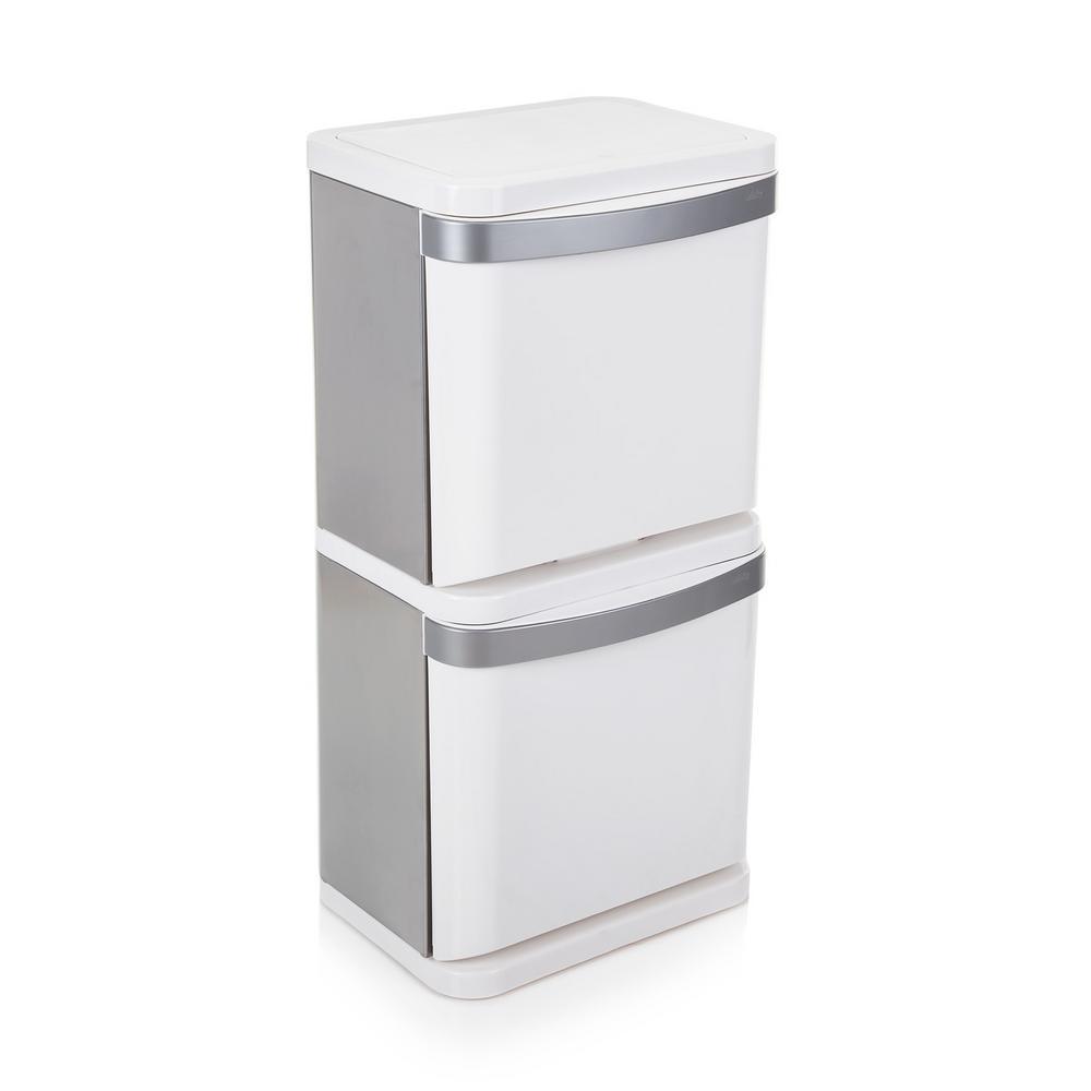 Minky 16 Gal. Sort3 Indoor Recycling Bin-TB10292100 - The