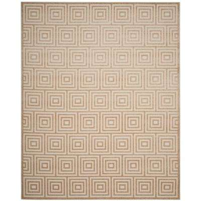 Cottage Cream 9 ft. x 12 ft. Indoor/Outdoor Area Rug