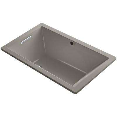 Underscore 5 ft. Reversible Drain Soaking Tub in Cashmere