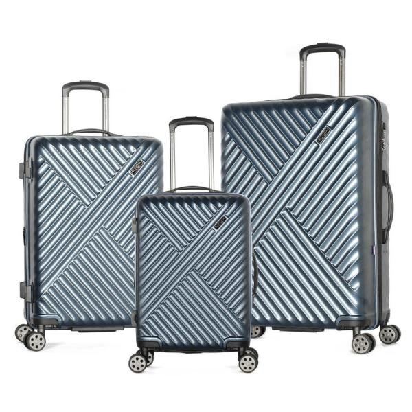 Matrix 3-Piece Expandable Navy Hardcase Spinner Set