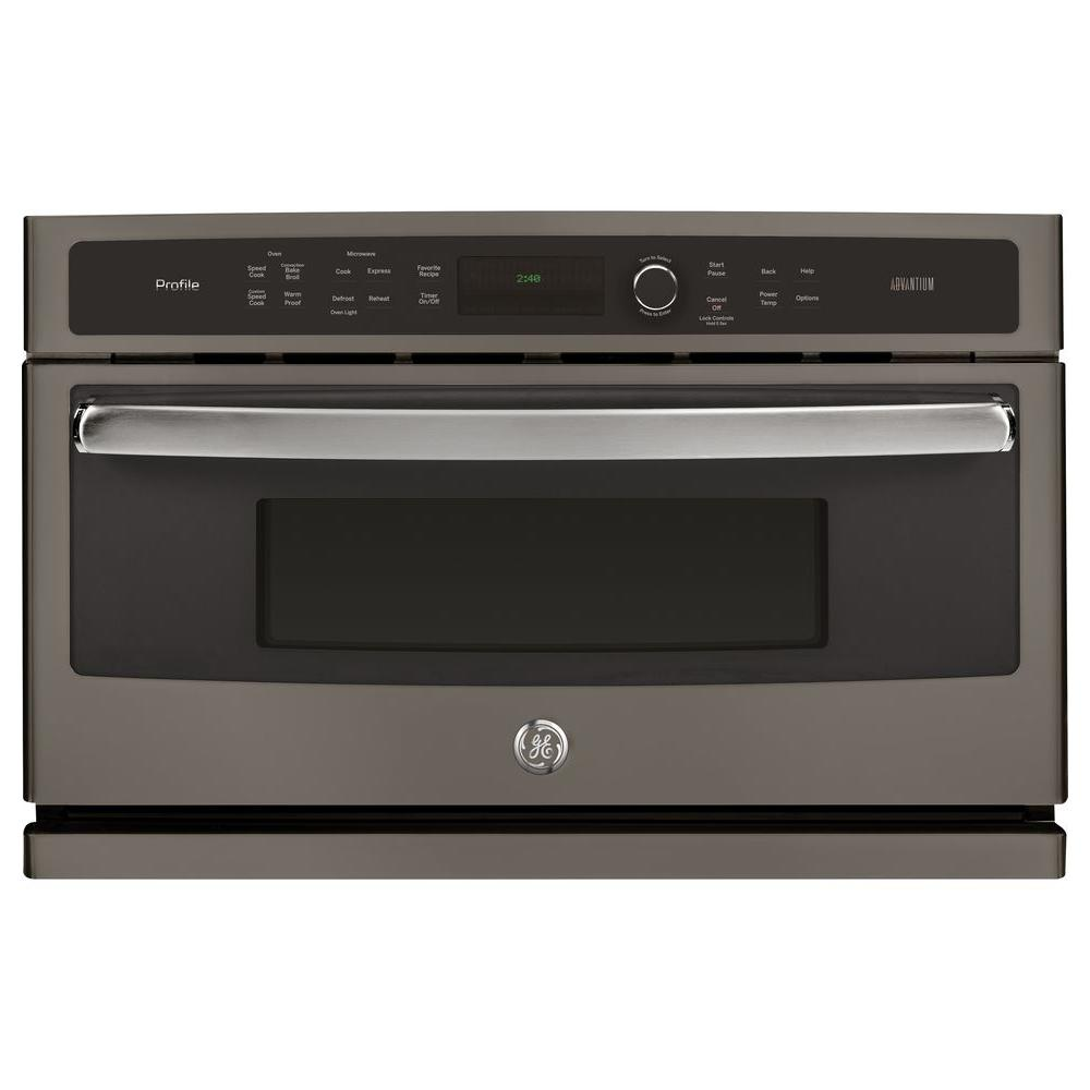 GE Profile 30 in Single Electric Wall Oven with Advantium