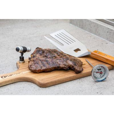 Boss Combo with Cutting Board, LED Magnetic BBQ Light and Meat Thermostat