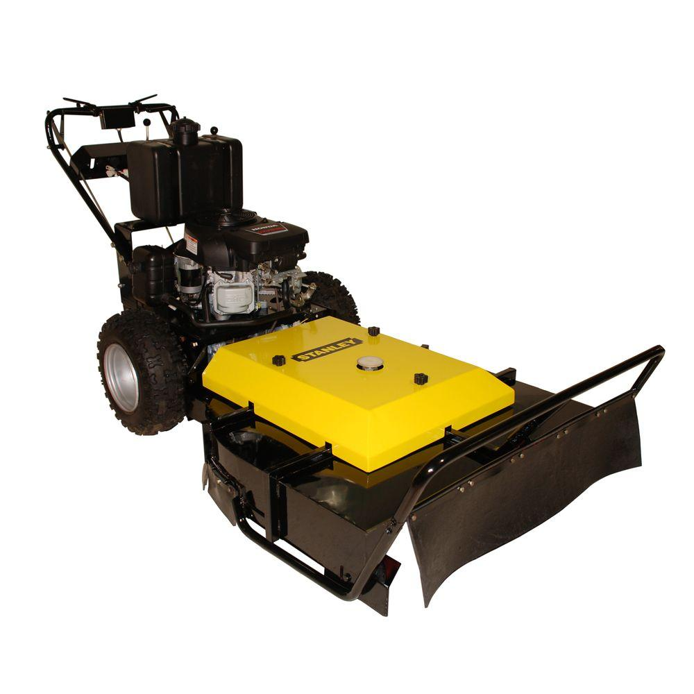 Stanley 36 in. Commercial Duty Hydro Walk-Behind Brush Mower Powered by Kawasaki FS600V Engine