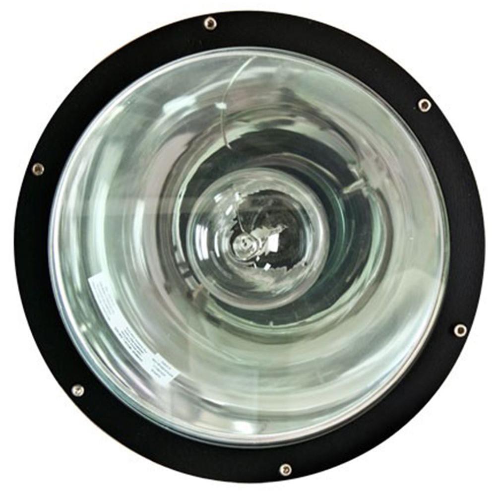 Filament Design Brantley 1-Light Black Outdoor In-Ground Well Light