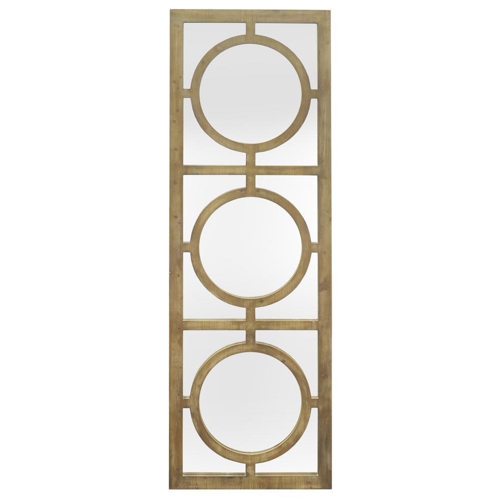 decorative wall mirrors oversized three hands wood decorative wall mirror with circle overlay detail