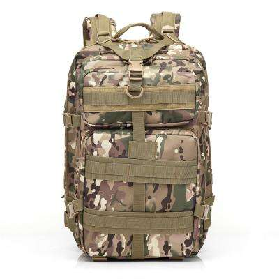 BL047 3P 45 l Outdoor Marching Knapsack Tactical 12 in. CP Camouflage Backpack