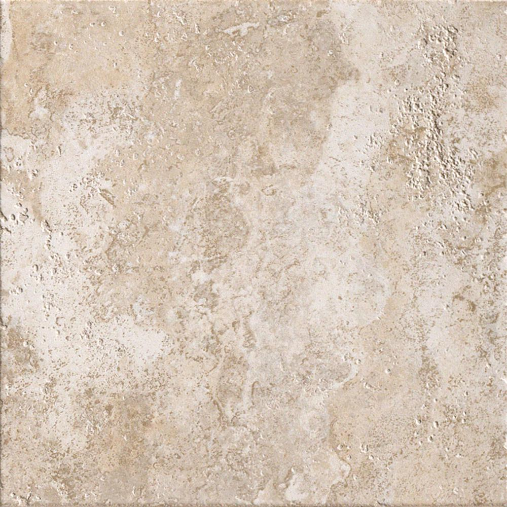 Glazed porcelain floor and wall tile