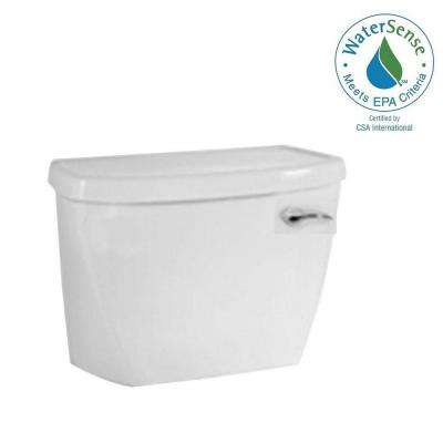 Cadet FloWise Pressure-Assisted 1.1 GPF Single Flush Toilet Tank Only in White